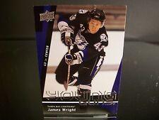 Rare James Wright Upper Deck Young Guns 2009 Card #243 Tampa Bay Lightning NHL