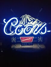 Coors Beer Neon Light Vintage 