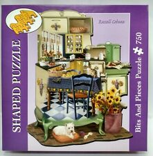 Classic Cooking by Russell Cobane 750 Piece Shaped Puzzle Bits & Pieces (#819)