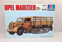 mb1212, RAR Alter Italeri 221 Opel Blitz Maultier Halbkette mint BOX 1:35 Bausat