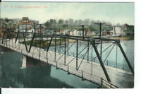 CE-367 IN, Logansport, 6th Street Bridge Divided Back Postcard Indiana