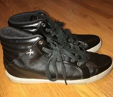 MARC ECKO Unlimited Shiny HI TOPS Sneakers Running Athletic Shoes Mens Sz 10.5 #