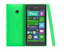 BNIB Nokia Lumia 735 Bright Green 8GB Windows 10 Wifi 4G GPS Unlocked Smartphone