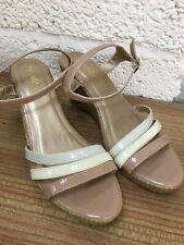 M & Co Ladies Wedge Sandals Size 8