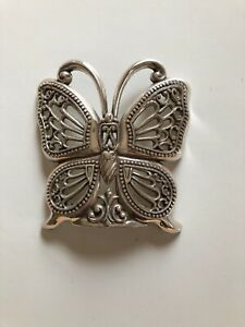 Brighton Silver Plated Butterfly Night Light Cover (Replacement Part) Cover Only