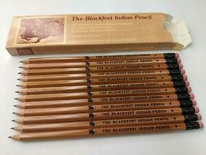 Blackfeet Indian Writing Pencil 12 NEW #2 Remington Pony War Drawing Browning