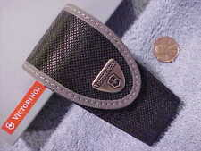 """Victorinox Pouch Black Nylon 3 Layer 33247 for 3 1/2"""" Swiss Army Tool knife buP"""