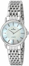 Edox Women's Quartz Watch Analogue Display and Stainless Steel Strap 57001 3M...