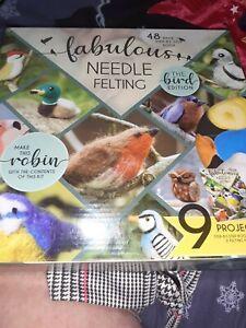 Needle Felting Kit With Instruction Book
