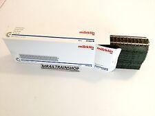 24188 MARKLIN - 10 x Rechte C-rails/C-Voies droits188,3 mm (k17-276)