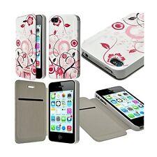 Etui à rabat et porte-carte pour Apple iPhone 4 / 4S motif HF30 + Film de Protec