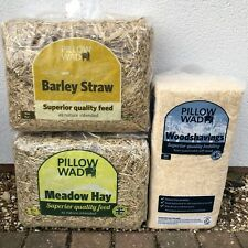 3 British Meadow Hay Straw Barn Shaving Dry Dust Free High Fibre Low 100%Natural