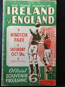 1948 - Northern Ireland v England