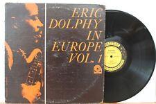 """Eric Dolphy In Europe Vol. 1"" LP ~ Prestige 7304 ~ Orig 1964 Mono ~ VG"