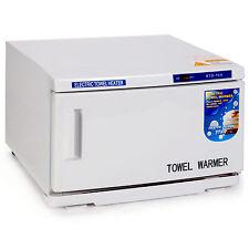2 In 1 Hot Towel Warmer Cabinet 16L UV Sterilizer Salon Spa Beauty Equipment New