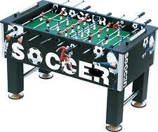 """Kickertisch """"Black Soccer"""" 139 x 76 cm groß, 60 kg schwer"""