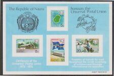 (K202-26) 1974 Nauru M/S $1.33 Upu (Z)