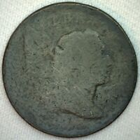 1795-6 Liberty Capped Bust US Large Cent Penny Coin 1c US Type Coin Die Adjust