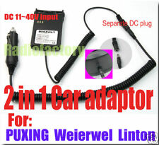 2 in 1 car adaptor for PX-777 PX-888 V-1000 PX-728 dc85