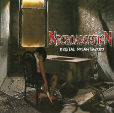 NECROABORTION-BRUTAL MISANTHROPY-CD-monstrosity-death-demoniac infected