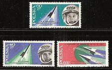 POLAND # 1156-1158 MNH FIRST WOMEN COSMONAUTS, BYKOVSKI.  Space Flight.