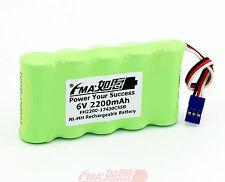 Futab 14SG 4PKS 8J 6J Transmitters Battery Ni-MH 6V 2200mAH HT5F1800B 4/5A_5SB