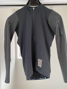 Rapha Pro Team Long Sleeve Aero Jersey. Dark Grey. Small