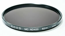 Kood gros bouchon ND400 Filtre 82 mm MULTI COATED made in japan