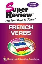 Super Reviews Study Guides: French Verbs by Research and Education...