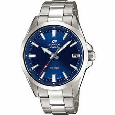Casio Men's Edifice Analog Quartz Stainless Steel Watch EFV100D-2AV