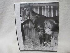 1952 Original Press Photo - Derby Winner * HILL GAIL * BEN JONES *