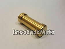 Solid brass shifter peg motorcycle, show bike, harley, chopper custom
