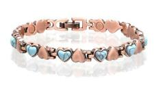 NEW COPPER MAGNETIC TURQUOISE LINK BRACELET  womens STYLE#TQ-H  jewelry health