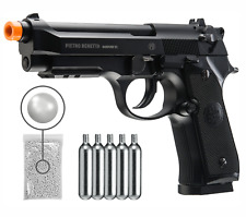 Umarex Beretta M92 A1 CO2 Blowback CO2 AirSoft BB Pistol with CO2 and BBs Bundle