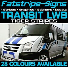 FORD TRANSIT LWB TIGER STRIPES GRAPHICS STICKERS STRIPES DECALS ST M SPORT VAN D