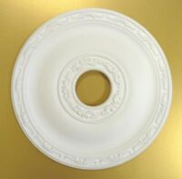 Ceiling Rose Size 40.5CM 'JULY' - Strong Lightweight Resin - (Not Polystyrene)