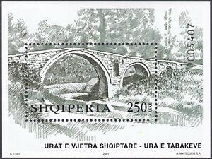 Albania 2001 Souvenir Sheet MNH Michel Catalog Block nº 136 ***