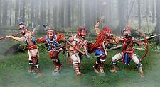 collecteur Showcase américain Révolution Woodland IROQUOIS INDIEN SET MIB