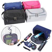 Waterproof Toiletry Bag Wash Shower Travel Makeup Organizer Portable Box Case NG