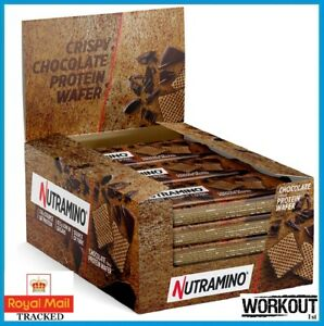 Nutramino Protein Wafer Low Sugar High Protein 12x39g