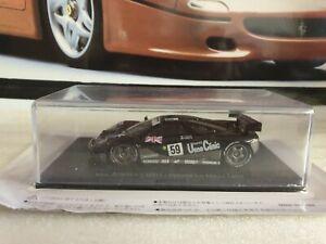 IXO/ SPARK MODELS  - McLAREN F1 GTR  - WIN LE MANS 1998 - 1/43 SCALE MODEL CAR