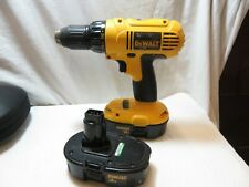 DeWalt cordless drill DC970 type 1 18V DC  cordless drill/driver 1/2""