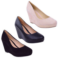 Unbranded No Pattern Synthetic Wedge Women's Heels