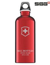SIGG Flasche Trinkflasche 0.6 l Swiss Emblem Rot Fahrrad Sport Reise Camping