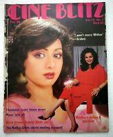 Cineblitz Feb 1986 Mumtaaz Mandakini Sridevi Prem Chopra Smita Patil Raj Babbar