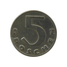 Österreich 5 Groschen 1931 - 1. Republik - Hammerkreuz