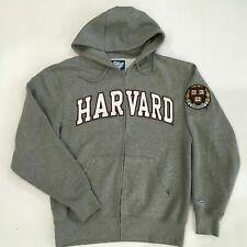 HARVARD UNIVERSITY VE RI TAS zip sweatshirt hoodie zip front pockets