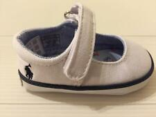 NEW RALPH LAUREN LAYETTE BABY SANDY MARY JANE SNEAKER INFANT GIRLS SHOES 2 WHITE