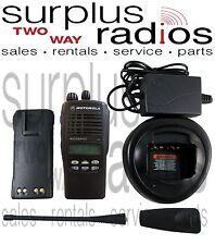 Motorola HT1250LS UHF 400-470MHZ 16 channel 4 watt LTR Trunking Radio Police