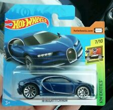 Hot wheels '16 BUGATTI CHIRON first edition short card